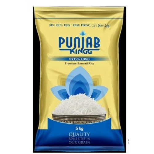 PUNJAB KING EX LONG BASMATI RICE 1KG